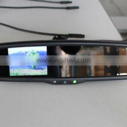 """auto rear mirror with camera display function 3.5"""" display for Infinity"""