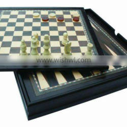 modern chess set wood chess game 10 in 1 game set