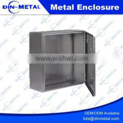 Precision Custom Clear Anodized Aluminum Electrical Junction Meter Box