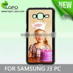 Popular style 2D Sublimation phone cases for Samsung galaxy J3