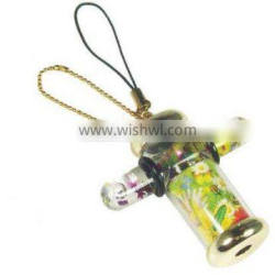 6.2cm High Quality keychain kaleidoscope for gift promotional souvenir with print patterns
