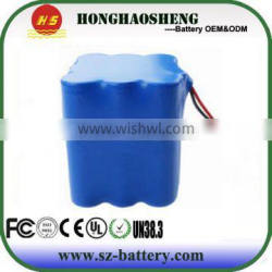 18650 Lifepo4 Battery Cases 12.8V Li-ion With Long Effect Times Battery Pack China