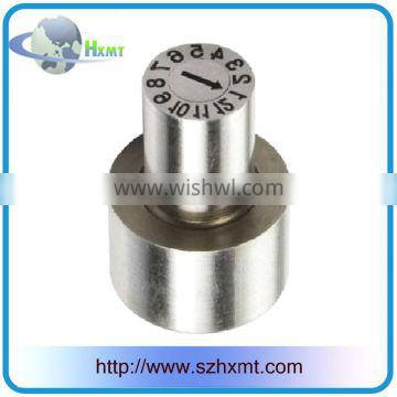 Stainless Steel Round Mould Date Stamps