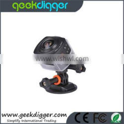 New Arrival 360 Degree All View 1440P@30FPS HD WiFi Sport Action Camera AMK-100S