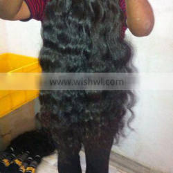 Top qualuty 100% Natural Indian Human Hair Pice List/ Human Hair Weave/Wigs Human Hair/Human Hair extensions 7A