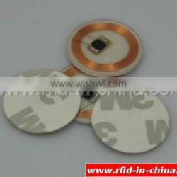pvc clarity rfid reset chips