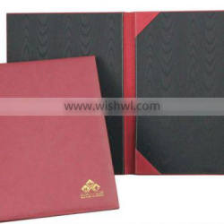 A4 leather certificate holder offical certificate holders in hot selling