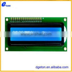 CHARACTER LCD MODULE/YELLOW GREEN LED BACKLIGHT LCD MODULE
