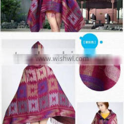 Factory hot sale knitted pashmina scarf scarves and shawls poncho
