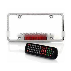 USA LED License Plate with brake function