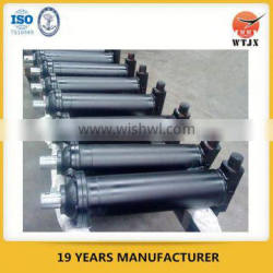 single piston single acting hydraulic cylinder for tipping vehicle