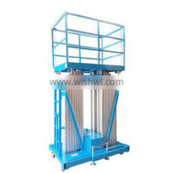 7LSJLII Shandong SevneLift hydraulic mobile outdoor aluminum lifting column electric elevator lift price