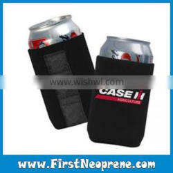 Black Magnets Convenient While Drinking Collapsible Insulated Can Holder