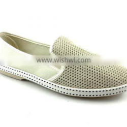 hollow out breathable mesh upper men's shoes