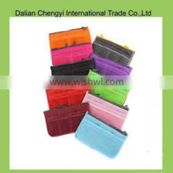 Wholesale multifunctional oxford ladies cosmetic bags with compartments