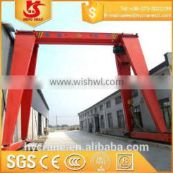 mini 3 ton gantry crane for outdoor or indoor use