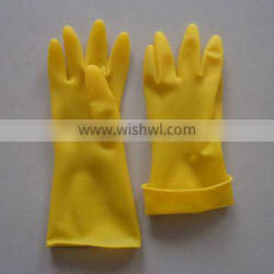 100% natural latex industrial gloves