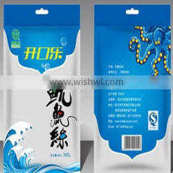 4 sided hot seal plastic packaging bags