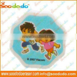 Fancy Children Shaped Eraser With Printing