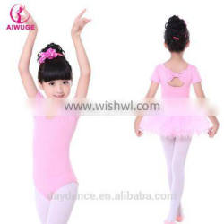 OEM 2016 High Quality Girls Leotard Gymnastic Ballet Kids Dance Leotard