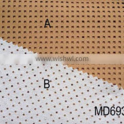 Artificial PU Suede fabric for high-heeled shoes & bedding articles MD69384