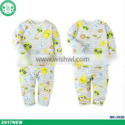 Wholesale comfortable spring autumn long sleeve baby clothing
