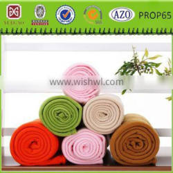 packing in rolled airline product fleece blanket airline blanket