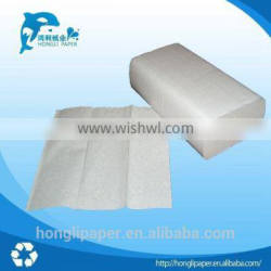 wholesale 1 ply hard and white multifold paper hand towel