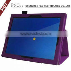Premium leather flip tablet leather case soft case for Google Pixe C with stand