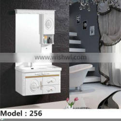 Special and popular slim pvc bathroom cabinet