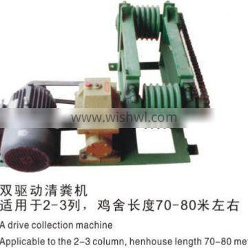 new design poultry manure removal system