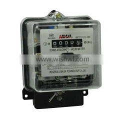 DD862 new design single-phase mechanical electric type energy meter