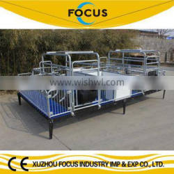 focus industry farrowing crate for pigs with easy operation and maintenance