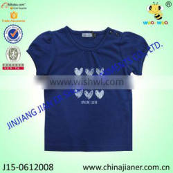 baby short puff sleeve 100%cotton wholesale