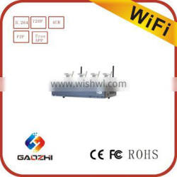 High Quality wireless wifi Camera, 4ch NVR KIT 720P ip security camera system wireless cam for home and office security