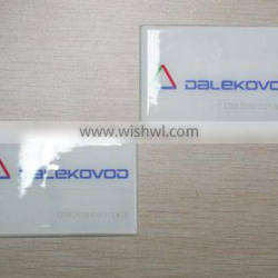 Rewritable and Programmable RFID Self Adhesive Labels RFID Windshield Tags, UHF Adhesive Stickers for Parking System