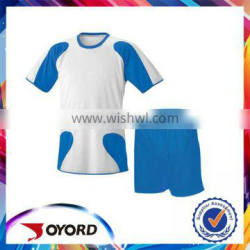 High quality comforable mesh football jersey pattern