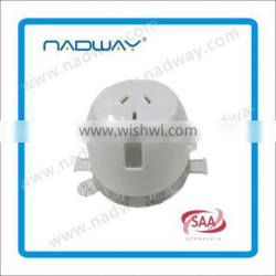 Christmas hot sale ,best discount black friday sale Durable White Single Socket Outlet
