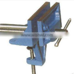 Clamp-On Woodwork Vise