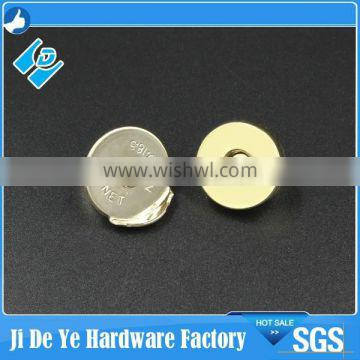 100% new hot sales brass nickel magnetic button
