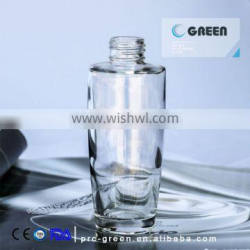 120ml High quality empty glass bottle for essential oil weight 132g