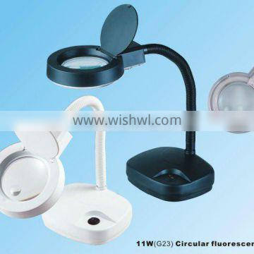 Skin Examination Magnifier Large/magnifier With 10x Led/table Magnifier Lamp Adjustable