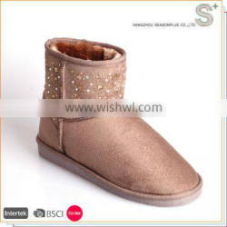Newest Design Top Quality fashionable snow boots for women
