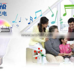 Bluetooth Audio Speaker LED Lamp disco party home