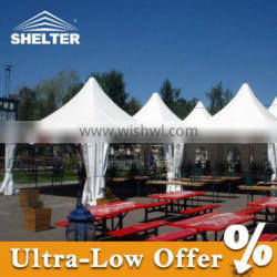 Strong outdoor tent 5x5m gazebo for whole sale
