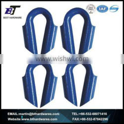 WIRE ROPE ACCESSORIES EUROPEAN TYPE TUBE THIMBLE