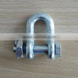 US Type Dee Shackle Drop Forged