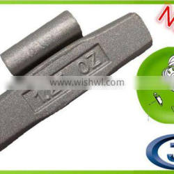 high-duty steel clip-on wheel weights,clip on weight,zn clip on wheel balance weights