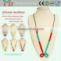 Promotional Charm Silicone Jewelry Beads