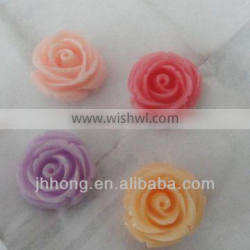 Resin accessories rose flower for the decoration of shoes/clothes/hair accessory